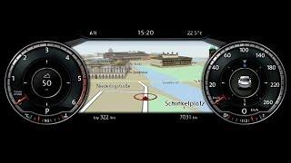 getlinkyoutube.com-2015 Volkswagen Passat - Active Info Display
