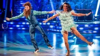 getlinkyoutube.com-Susanna Reid & Kevin Charleston to 'Bad Moon Rising' - Strictly Come Dancing - BBC One