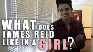 getlinkyoutube.com-WHAT JAMES REID LIKES IN A GIRL  #Throwback Video!