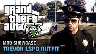 GTA 5 PC - Trevor LSPD Outfit [Mod Showcase]