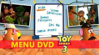 Menu do dvd toy story 3