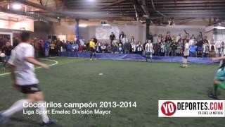 Final entre Cocodrilos vs Villatoro Liga Sport Emelec