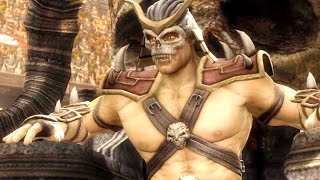 getlinkyoutube.com-Mortal Kombat Komplete Edition - Dark Kahn Costume Skin Mod Challenge Tower 300 Gameplay Playthrough