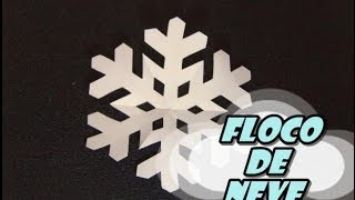 getlinkyoutube.com-DIY.: Floco de Neve