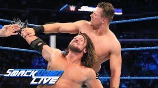 getlinkyoutube.com-AJ Styles vs. The Miz: SmackDown LIVE, Jan. 17, 2017