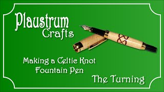 getlinkyoutube.com-Celtic Knot Pen Turning