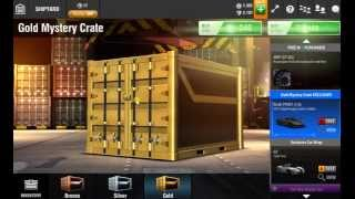 opening 10 golden crates on racing rivals