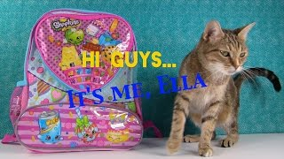 getlinkyoutube.com-Shopkins Surprise Backpack | Puppy In My Pocket Toy Review | PSToyReviews