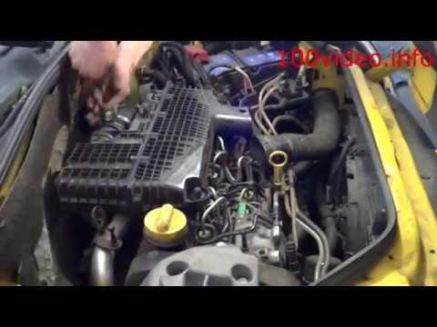 Устранение течи вакумного насоса Renault kangoo