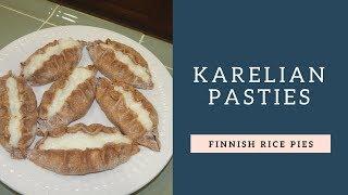 Karelian Pasties (Finnish Rice Pies)