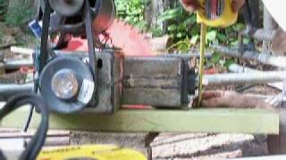 getlinkyoutube.com-Lumber Mill from Scratch Part 6 Saw Mount and Fathers Day