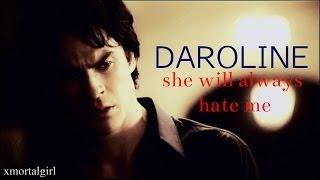 getlinkyoutube.com-Damon and Caroline   she will always hate me
