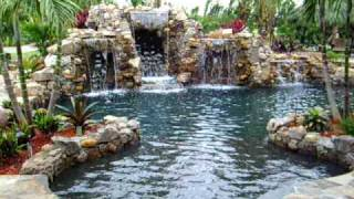 getlinkyoutube.com-Back yard paradise by Florida-Falls.com