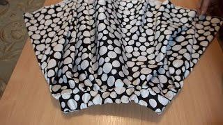 Юбка солнце сшить  одним швом за 1 час   быстро и очень красиво how to sew a skirt