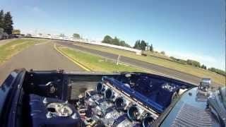 getlinkyoutube.com-PPRE 6 Rotor RX4 Track Test at the 2013 V 4 & Rotary North Island Jamboree (Onboard Footage)