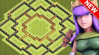 "getlinkyoutube.com-Clash Of Clans - ""BEST!"" TH9 FARMING BASE 2016! ""NEW UPDATE!"" - CoC BEST TOWN HALL 9 DEFENSE 2016!"