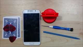 getlinkyoutube.com-Samsung Galaxy S6 Dissassembly Under 10 Min. - Screen Replacement - Tear Down