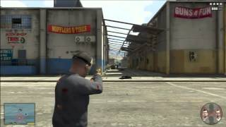 getlinkyoutube.com-GTA 5 Braquage de fourgon xbox 360