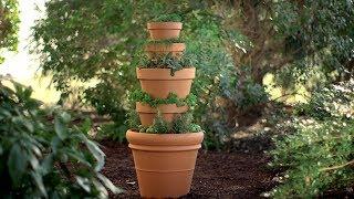 getlinkyoutube.com-Cómo crear una torre de hierbas