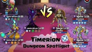 Defeat Timerion in Dungeon spotlight - Monster Legends