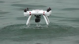 getlinkyoutube.com-Mariner Quadcopter Takeoff and landing from River