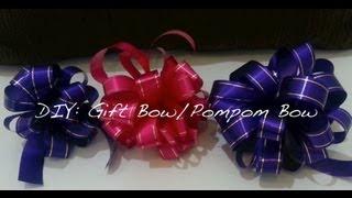 getlinkyoutube.com-DIY Gift Bow (#1)