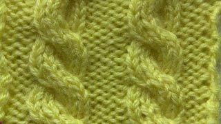 getlinkyoutube.com-تريكو يدوي -  غرزة الضفيرة الثلاثية الأمامية  7