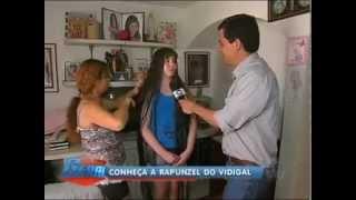 getlinkyoutube.com-Com 1,60 m de cabelo, Rapunzel do Vidigal quer cortar as madeixas - Rio de Janeiro - R7.mp4