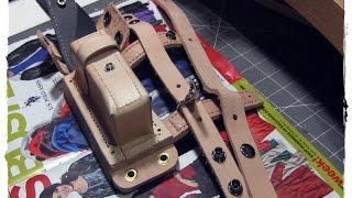 getlinkyoutube.com-Custom Leather Sheath - Bryan Teehan Knives - a Tutorial
