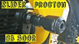 Slider Procton Cb 300r Review Tutorial
