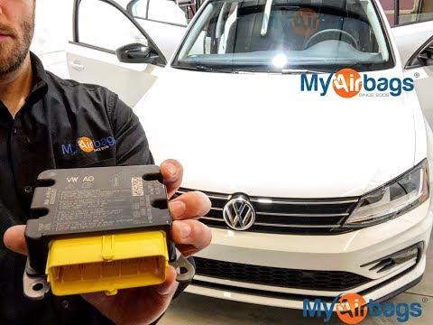 VW JETTA - AIRBAG SRS MODULE LOCATION & Reset - MyAirbags.com