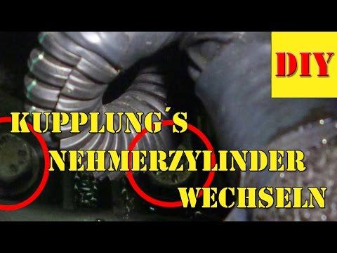 Kupplungspedal hangt oder kommt nicht zuruck ! Kupplungsnehmerzylinder wechseln - Teil 2