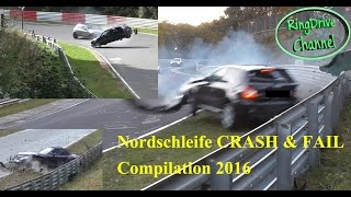 getlinkyoutube.com-CRASH COMPILATION -Big CRASH and FAIL compilation 2016 on Nürburgring Nordschleife RingDrive Channel