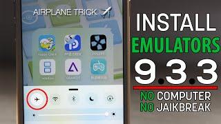 getlinkyoutube.com-NEW DATE TRICK?! AIRPLANE TRICK! Install EMULATORS on iOS 9.3.3 for FREE & Permanent! (NO JAILBREAK)