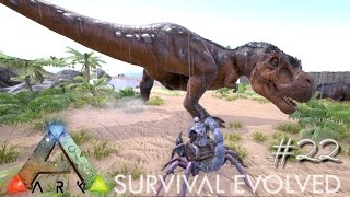 getlinkyoutube.com-ARK: Survival Evolved - SCORPION VS TREX - EASY TAMING !!! - [Ep 22] (Server Gameplay)