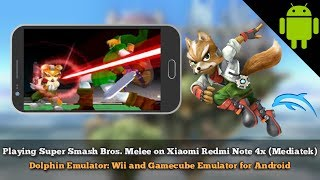 Dolphin Emulator Android Super Smash Bros Melee on Xiaomi Redmi Note 4x