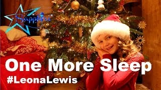 Leona Lewis - One More Sleep - cover Sapphire 10 years old