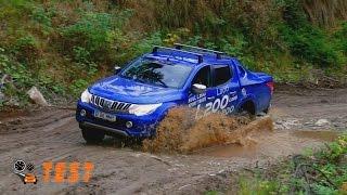 Test drive Mitsubishi L200 2015