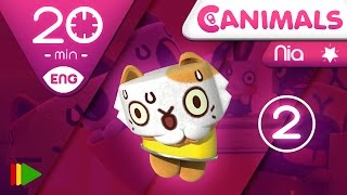 getlinkyoutube.com-Canimals | Collection 11 (Nia 2) | Full episodes for kids | 20 minutes