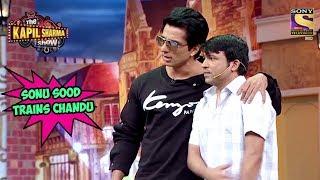 Sonu Teaches Chandu How To Fight With Kapil - The Kapil Sharma Show