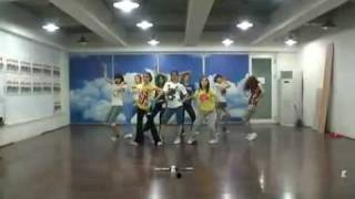 "getlinkyoutube.com-少女時代 ""Genie"" (舞蹈练习室) SNSD (Dance Practice Room)"