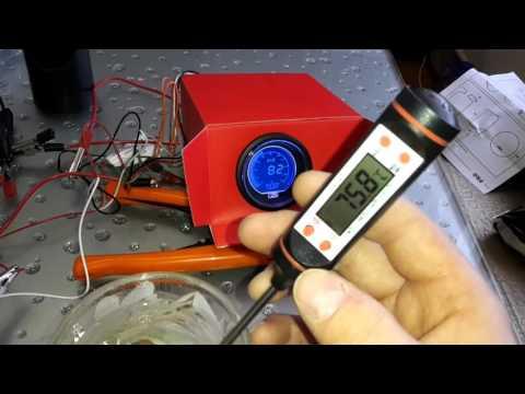 Проверка точности датчика температуры ОЖ