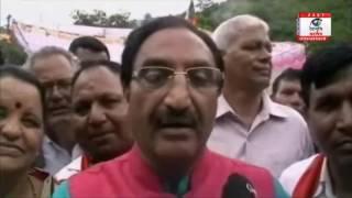 घनसाली में भाजपा द्वारा आयोजित की गयी पर्दाफ़ाश रैली