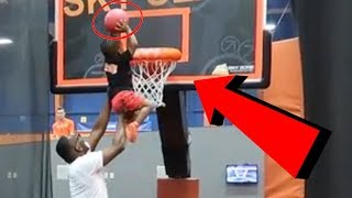 BABY DJ DUNKS FOR THE FIRST TIME | THE PRINCE FAMILY