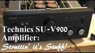 getlinkyoutube.com-Technics SU-V900 Amplifier.
