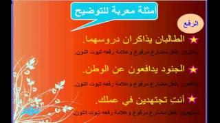 getlinkyoutube.com-الأفعال الخمسة واعرابها - لغة عربية - للصف السادس الإبتدائي - موقع نفهم