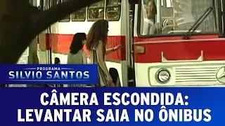 getlinkyoutube.com-Câmera Escondida: Levantar saia no ônibus