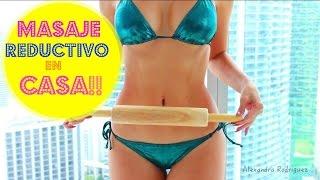 getlinkyoutube.com-Como Reducir Cintura y Abdomen!! Masaje Reductivo en Casa!!