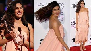 getlinkyoutube.com-Priyanka Chopra Wins Her 2nd People's Choice Awards | Favorite Dramatic TV Actress | Quantico
