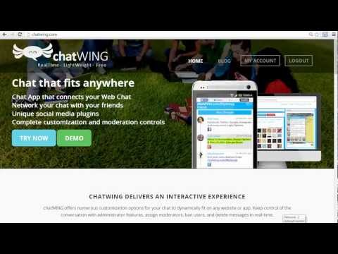 Android App Skype free chat wing Chat rooms chatwing.com